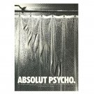 ABSOLUT PSYCHO Vodka Magazine Ad