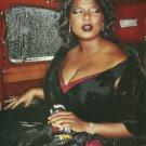 ABSOLUT BRAVO Queen Latifah Vodlka Magazine Ad