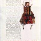 ABSOLUT GOLDEN Vodka Magazine Ad w/ Text by Arthur Golden