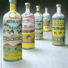 ABSOLUT DELVOYE Italian Vodka Magazine Ad by Wim Delvoye RARE!