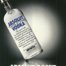 ABSOLUT GOSSIP Vodka Magazine Ad NOT EASY TO FIND!