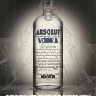 ABSOLUT IMPOSSIBILITY Vodka Magazine Ad
