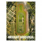 ABSOLUT LOUISVILLE Vodka Magazine Ad
