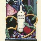 ABSOLUT NEW YORK Statehood Series Vodka Magazine Ad RARE!