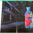 ABSOLUT PAIK Vodka Magazine Ad w/ Sculpture by Nam June Paik - 2 PAGES