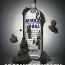 ABSOLUT PRIMARY Vodka Magazine Ad HARD TO FIND!