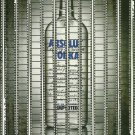ABSOLUT PREMIERE Italian Vodka Magazine Ad DIFFICULT TO FIND!