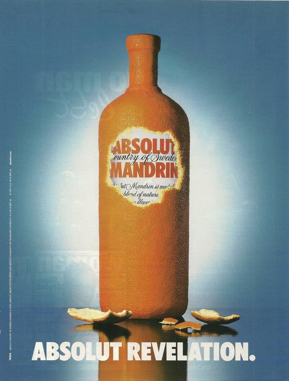 ABSOLUT REVELATION German Vodka Magazine Ad HARD TO FIND!