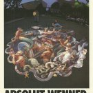 ABSOLUT WENNER Vodka Magazine Ad w/ Artwork by Kurt Wenner