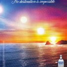 IN AN ABSOLUT WORLD British Vodka Magazine Ad NO DESTINATION IS IMPOSSIBLE