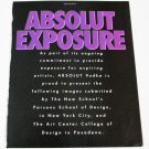 ABSOLUT EXPOSURE Vodka Magazine Ad - 10 PAGES - 8 RARE ADS - 1994