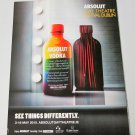 ABSOLUT GAY THEATRE FESTIVAL DUBLIN Irish Vodka Magazine Ad RARE!