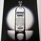 ABSOLUT TRICK or TREAT Die-Cut Spectacular Vodka Magazine Ad NOT COMMON!