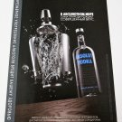 IN AN ABSOLUT WORLD True Taste Comes Naturally RUSSIAN Vodka Ad w/ CYRILLIC Text