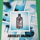 ABSOLUT IMAGE & EXPOSURE Canadian Spectacular Die-Cut Vodka Magazine Ad RARE!