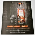 HANDCRAFTED LUXURY ABSOLUT ELYX Canadian Vodka Magazine Ad