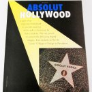 ABSOLUT HOLLYWOOD Vodka Magazine Ad - 10 PAGES