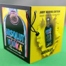 ABSOLUT ANDY WARHOL EDITION Bottle Neck Tag