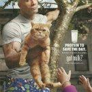 DWAYNE JOHNSON got milk? Milk Mustache Magazine Ad © 2013