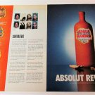 ABSOLUT REVEALED + REVELATIONS Canadian Vodka Magazine Ads NOV/DEC 2000