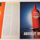 ABSOLUT REVEALED + REVELATIONS Canadian Vodka Magazine Ads SEP/OCT 2001