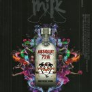 ABSOLUT 72 BIAN Chinese Vodka Magazine Cover Ad + Inside Ad and Article 3pp 2010