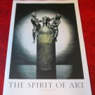 "ABSOLUT VODKA ""THE SPIRIT OF ART"" BOOKLET - 11 Different Ads - Stockholm Sweden"
