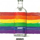 TAKING PRIDE IN DIVERSITY - NEW 2018 ABSOLUT VODKA MAGAZINE AD