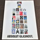 ABSOLUT GLASNOST Vodka Magazine Supplement - 32 PAGES - 27 DIFFERENT ADS - ©1990