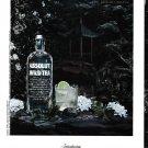 ABSOLUT WILD TEA Vodka Magazine Ad - 4 PAGES