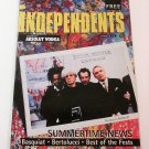 INDEPENDENTS BOOKLET Summertime News - 3 ABSOLUT VODKA ADS - 1 VERY RARE AD