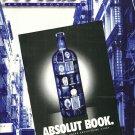 NY Soho Arts Magazine September 1996 ABSOLUT BOOK & ABSOLUT WESTWOOD GALLERY Ads