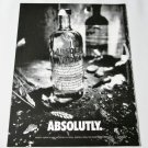 ABSOLUTLY  Vodka Magazine Ad HELMUT NEWTON 8 Pages