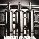 ABSOLUT ARMONIA Spanish Language Vodka Magazine Ad