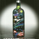 ABSOLUT BY MANISH ARORA Vodka Magazine Ad from India RARE!