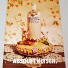 ABSOLUT KITSCH British Vodka Magazine Ad NOT COMMON!