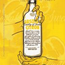 MAKE IT AN ABSOLUT SUMMER Vodka Magazine Ad CITRON