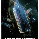 ABSOLUT JERSEY Vodka Ad Max Racks Postcard © 1999