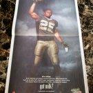REGGIE BUSH Super Bowl XIV got milk? USA Today Newspaper 2010 Victory Ad
