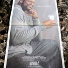 """SHAQUILLE O'NEAL """"HERE'S TO RETIREMENT"""" got milk? USA Today Newspaper Ad 2011"""