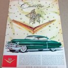 """1953 CADILLAC COUPE DE VILLE Magazine Ad Advertisement """"Jewels by Harry Winston"""""""