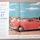 1947 STUDEBAKER COMMANDER REGAL DE LUXE 5-PASSENGER COUPE Magazine Advertisement