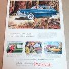1949 GOLDEN ANNIVERSARY PACKARD 4-DOOR SEDAN Magazine Ad Advertisement