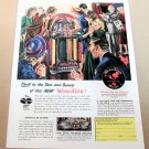 WURLITZER MODEL 1100 JUKEBOX 1947 Magazine Ad Advertisement
