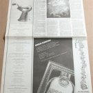 ABSOLUT EXHIBITION Partial Page New York Times Newspaper Ad June 2, 2000