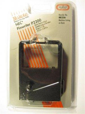 Nu-kote NK236 Black Ribbon for use with NEC Pinwriter P2200 #012616