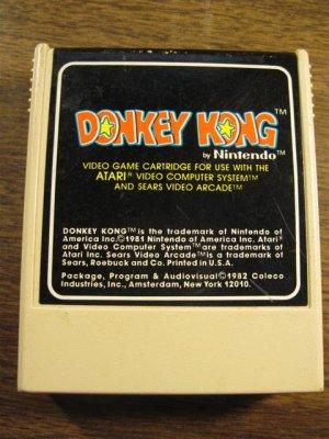 Donkey Kong (Colecovision, 1982)