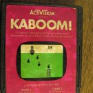 Atari 2600 Activision Kaboom! Action/Adventure 1981