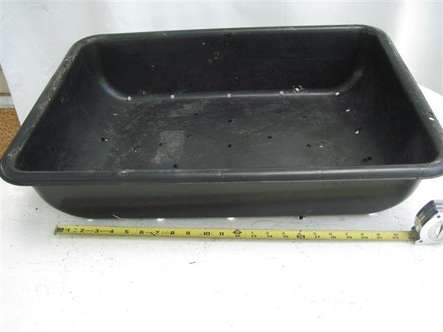 PVC Tubs for Plant starting/growing.