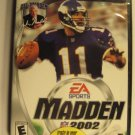Madden NFL 2002 Sony PlayStation 2 A